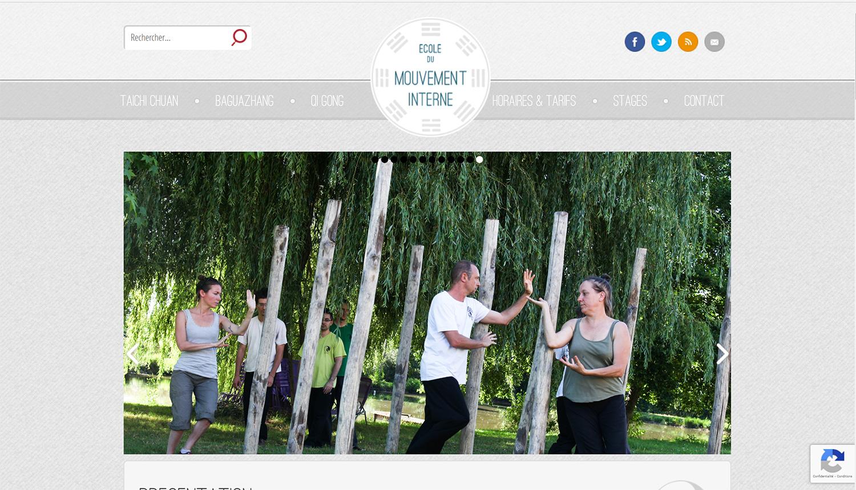 Site web École du Mouvement Interne